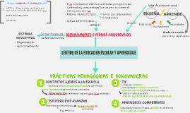 SENTIDO DE LA EDUCACIÓN ESCOLAR Y APRENDIZAJE