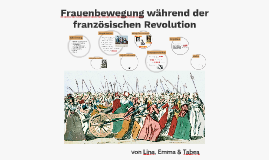 Frauenbewegung während der franzöischen Revolution