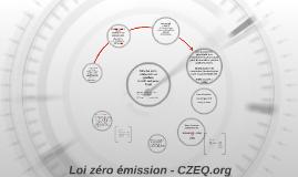 Loi zéro émission - CZEQ.org