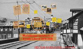 Copy of Movimientos sociales en el Estado Liberal 1870-1940