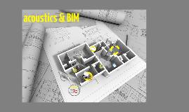Copy of acoustics & BIM