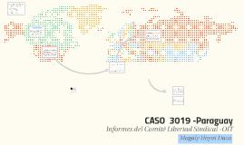 CASO  3019 -Paraguay