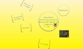 PSCI 4850: Harry Potter
