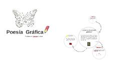 Copy of Poesía  Gráfica