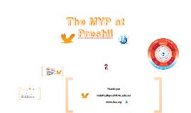 The MYP at Preshil