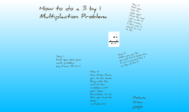 How to 4 by 1 multiplaction problem