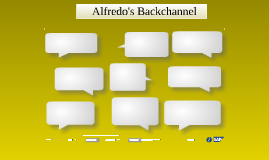 Alfredo's Backchannel