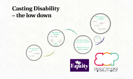 Casting Disability – the low down