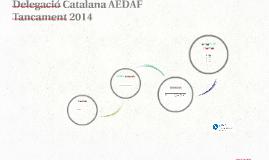 Presentació tancament 2014