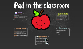 iPad use in the classroom