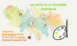 El arte en la educacion preescolar
