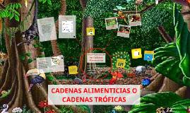 Copy of CADENAS ALIMENTICIAS O CADENAS TROFICAS