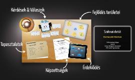 Desktop Prezumé by Márton Herneczki