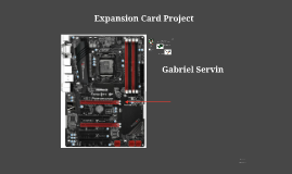 Expansion Card Project