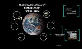 Copy of LENGUAJE Y COMUNICACION