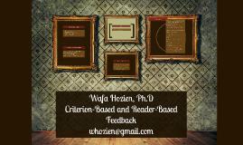 Wafa Hozien, Ph.D