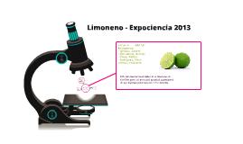 Limoneno - Expociencia 2013
