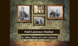 Copy of Paul Laurence Dunbar