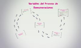 Variables del Proceso de Remuneraciones