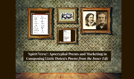 'Spirit Verse': Apocryphal Poems and Marketing in Composing