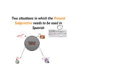 Gente: Present Subjunctive/ Presente del Subjuntivo