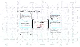 A-Level Economics Year 1