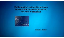 Exploring the relationship between democratization and regio