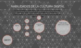 HABILIDADES DE LA CULTURA DIGITAL