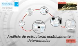 Análisis de estructuras estáticamente determinadas AE1
