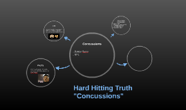 """Hard Hitting Truth """"Concussions"""""""