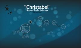 """""""Christabel"""""""