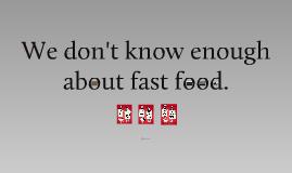 Fast Food Problem