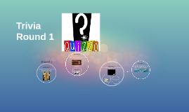Quizzo Trivia Round 1