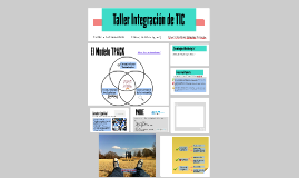 Taller Integración de TIC