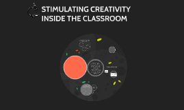 Copy of STIMULATING CREATIVITY INSIDE THE CLASSROOM