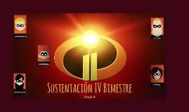 Sustentación IV Bimestre
