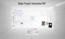 Major Project: Interactive PDF