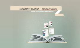 Lenguaje y Escuela
