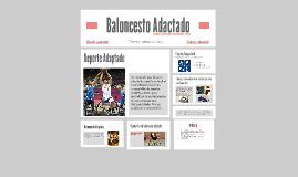 Copy of Baloncesto Adactado