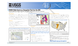 Easy Access to the Gold Standard: NWIS Web Services Snapshot Tool for ArcGIS