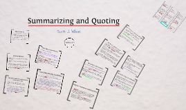 ATP Lab: Summarizing and Quoting