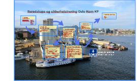 Beredskaps og sikkerhetstrening Oslo Havn KF