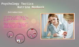 Psychology tactics