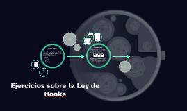 Ejercicios sobre la Ley de Hooke