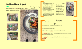 Build and Burn Project