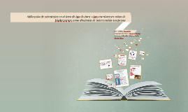 Aplicación de estrategias en el área de pre-lectura y pre-es