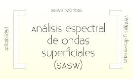 Copy of Análisis espectral de ondas superficiales (SASW)
