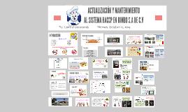 Copy of Copy of ACTUALIZACIÓN Y MANTENIMIENTO