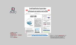 Acreditación Nacional de prestadores institucionales de aten