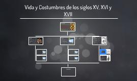 Copy of Vida y Costumbres de los siglos XV, XVI y XVII